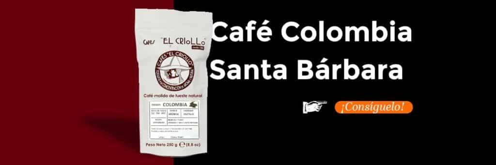comprar cafe colombia santa barbara