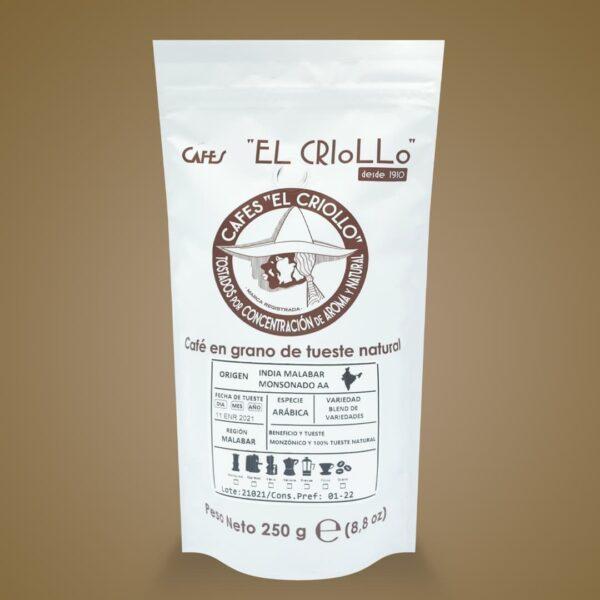 índia malabar monsonado aa cafe cafes el crioll