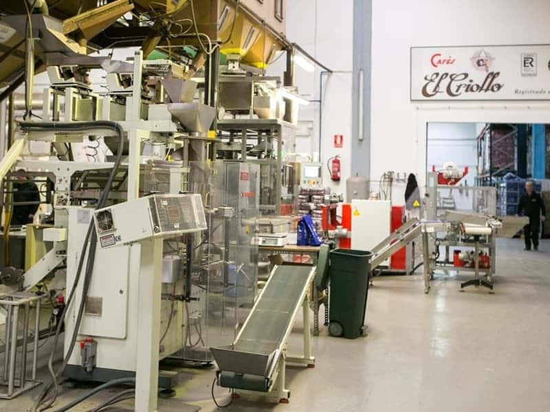 fábrica de cafés el Criollo