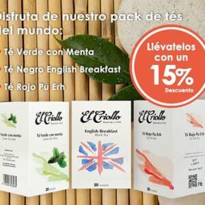 pack promoció tes de l'món
