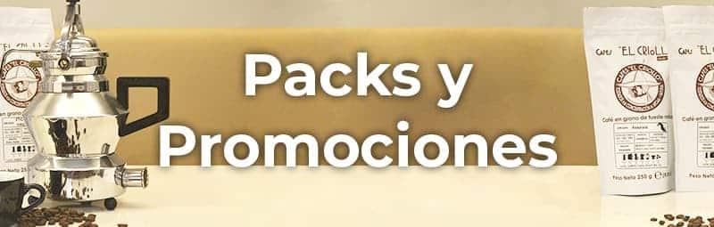 Packs y promociones