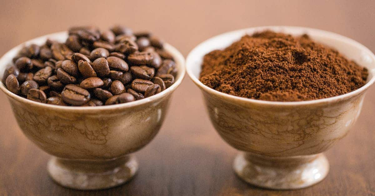 cafe en grano o molido
