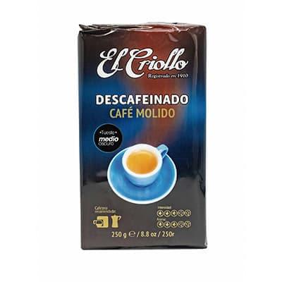 paquete descafeino cafe