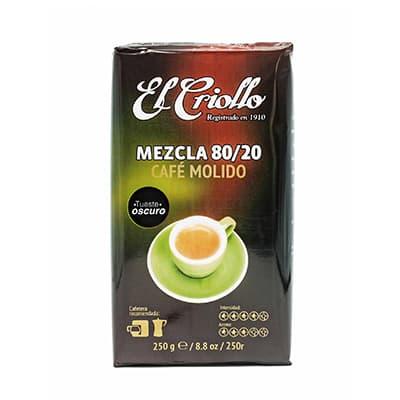 Cafe molido mezcla