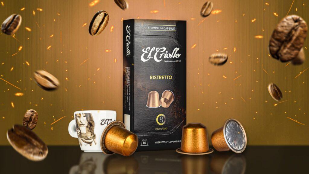 capsulas compatibles nespresso Ristretto con taza