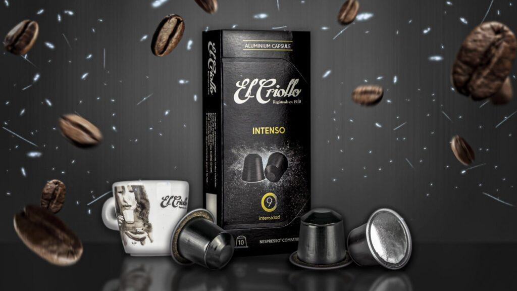 capsulas compatibles nespresso intenso con taza