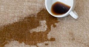 quitar manchas de café